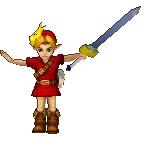 Young Link Alternate Costume 2 (HWL DLC)