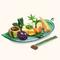 Kyoto Vegetable Arrangement (TMR)