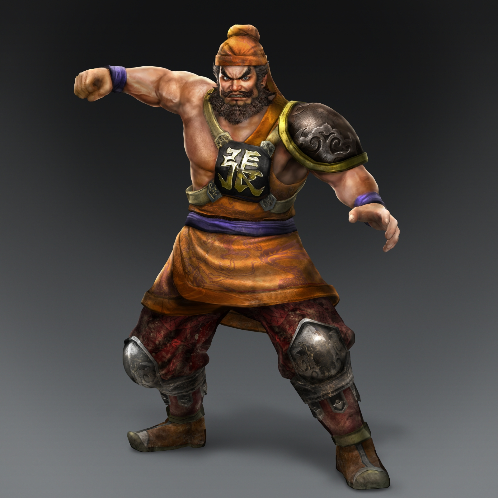 FileZhang Fei DW1 Costume  Zhang Fei Dynasty Warriors 8