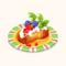 Neapolitan-style Baba with Fresh Fruits (TMR)
