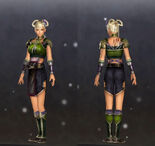 Costume Set 5 - Female (DW7E DLC)
