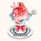 Tsuji-themed Kakigori - Strawberry (TMR)