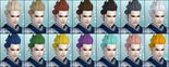 DW6E Male Hair Color Parts