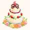 1-Year Anniversary Party Cake (TMR)