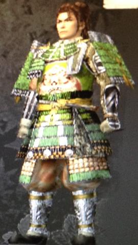 File:Tsukikazu Great Armor (Kessen III).png