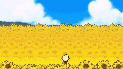 Mother 3 Chapter 6 sunflower fields
