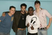 Spencer Moon, Ronny Ferreira, Gus Smith and Martin Fowler