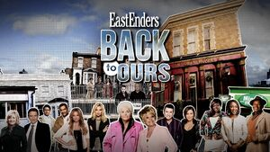 Eastenders Back to Ours Title Card