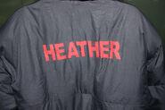 Heather Filming Coat 2