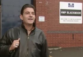 Nick Cotton release from Prison (2000)