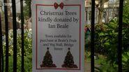 Albert Square Christmas Tree Sign (19 December 2016)