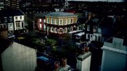 Albert Square overhead shot