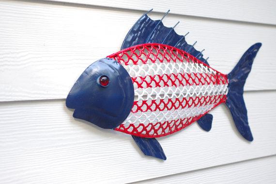 File:Red White & Blue Patriotic Fish.jpeg