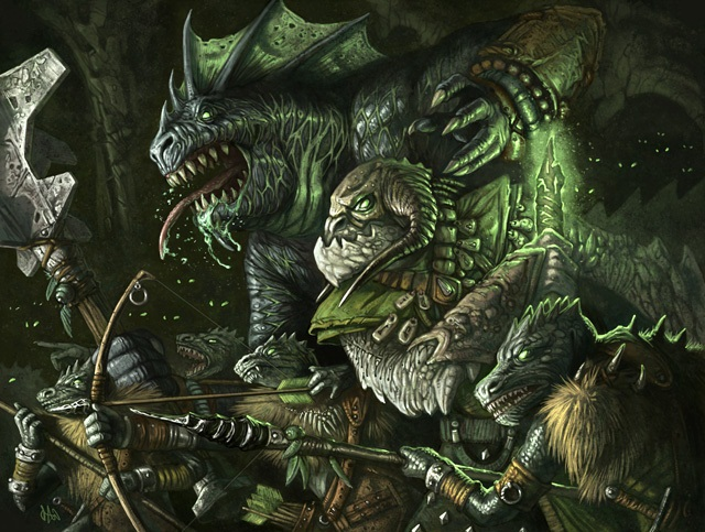 D D Lizardfolk Names Lizardfolk and troglodyte