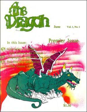 Dragon Magazine Cover