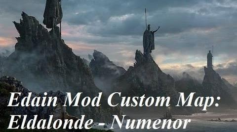 Edain Mod Eldalonde Custom Map 2v1 Against Ruuddevil and Calsash!