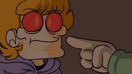 Trick or Threat - Edd pointing possessed Matt