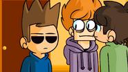 Trick or Threat - Edd & Matt looking at Tom