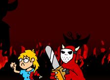 Demons in hell
