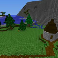 Hagrid's Hut and The Lake