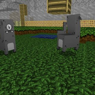 Gray moofs in my zoo pasture biome