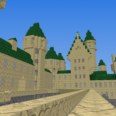 Hogwarts From The Entrance Viaduct
