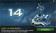 Level 14 banner