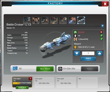 Caldera-2 Battle Cruiser Training-0