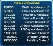 Force Challenge 40