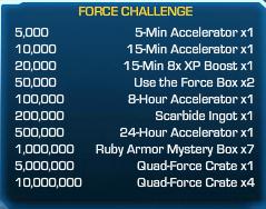 Force Challenge 10