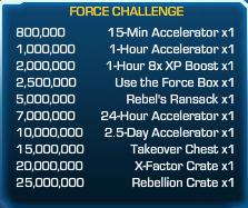 Force Challenge 52