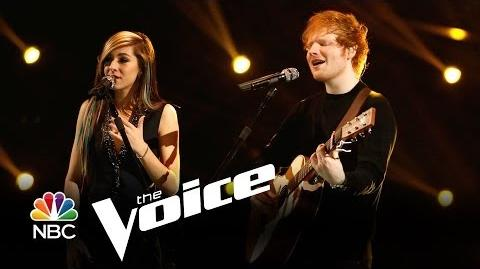 "Ed Sheeran and Christina Grimmie ""All of the Stars"" (The Voice Highlight)"