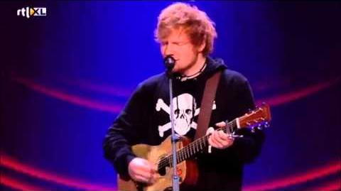 Ed Sheeran - Give Me Love (Live on The voice of Holland, 11 30 2012)