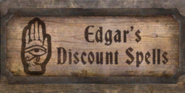 TESIV Sign EdgarsDiscountSpells