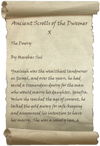 File:Ancient Scrolls of the Dwemer X.png