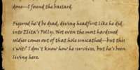 Tattered Note (Online, Entila's Folly)