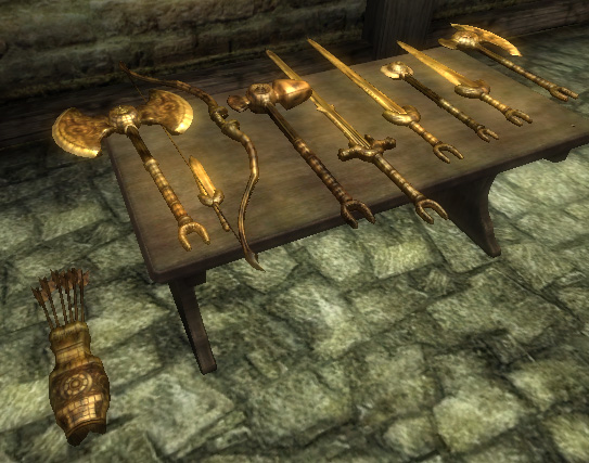 File:Dwarven Weapons.jpg