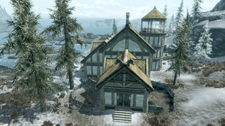 Windstad Manor - Front - 3 Wings