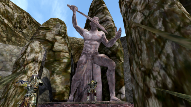 File:The Statue of Malacath - Morrowind.png