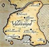 Valenwood map
