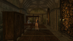 TES3 Morrowind - Caldera - Governor's Hall interior