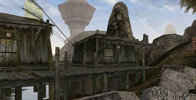 File:TES3 Morrowind - Dagon Fel - Hurg's House exterior.jpg