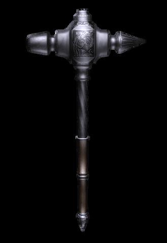 File:Oblivion SteelWarhammer.png
