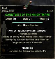 Knightmare - Gauntlets 21