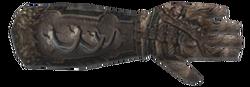 Bear Left Gantlet - Morrowind