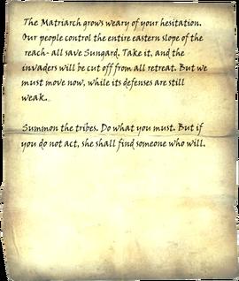 Forsworn Note 1