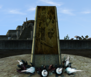 Vivec, Temple Shrine to stop the moon - Morrowind