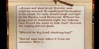 Fragment: Song of Hrormir