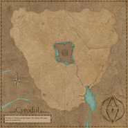 Cyrodiil Interactive Map Blank