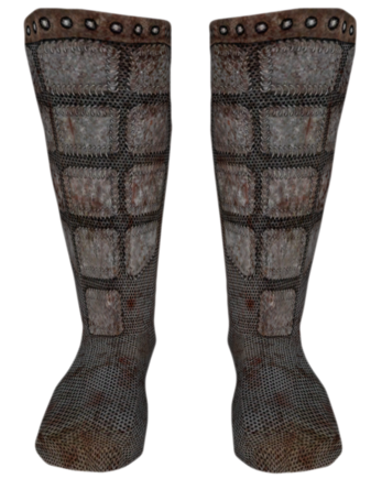 File:Chainmail Boots Oblivion.png